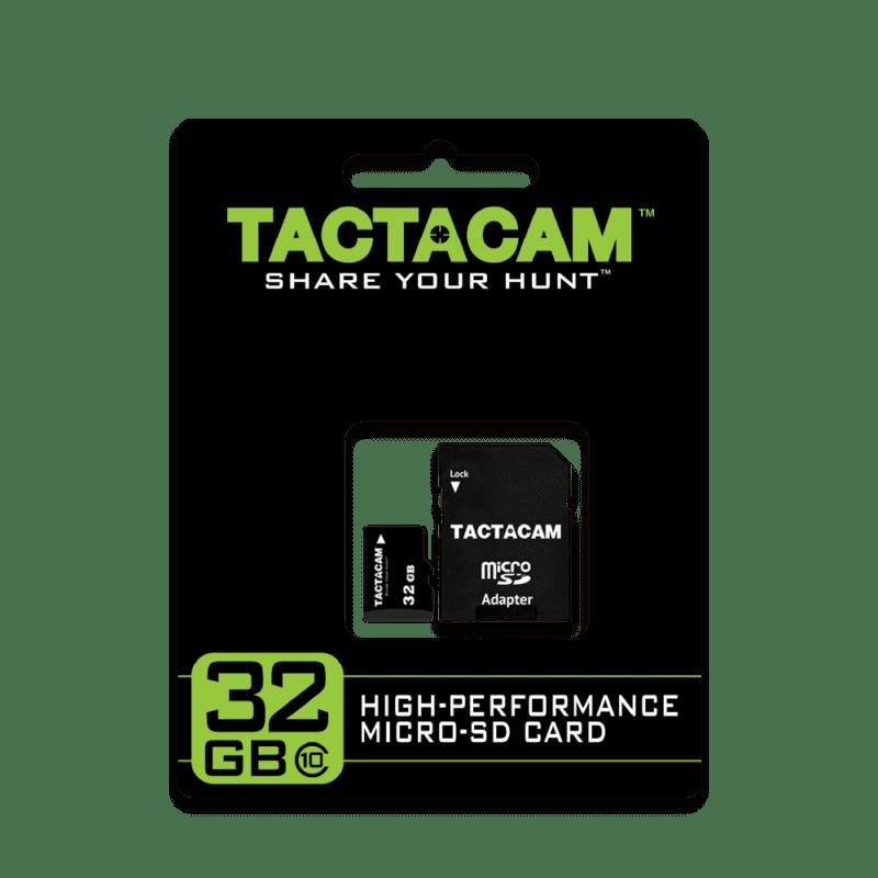 Tactacam 32GB SD Card Packaging