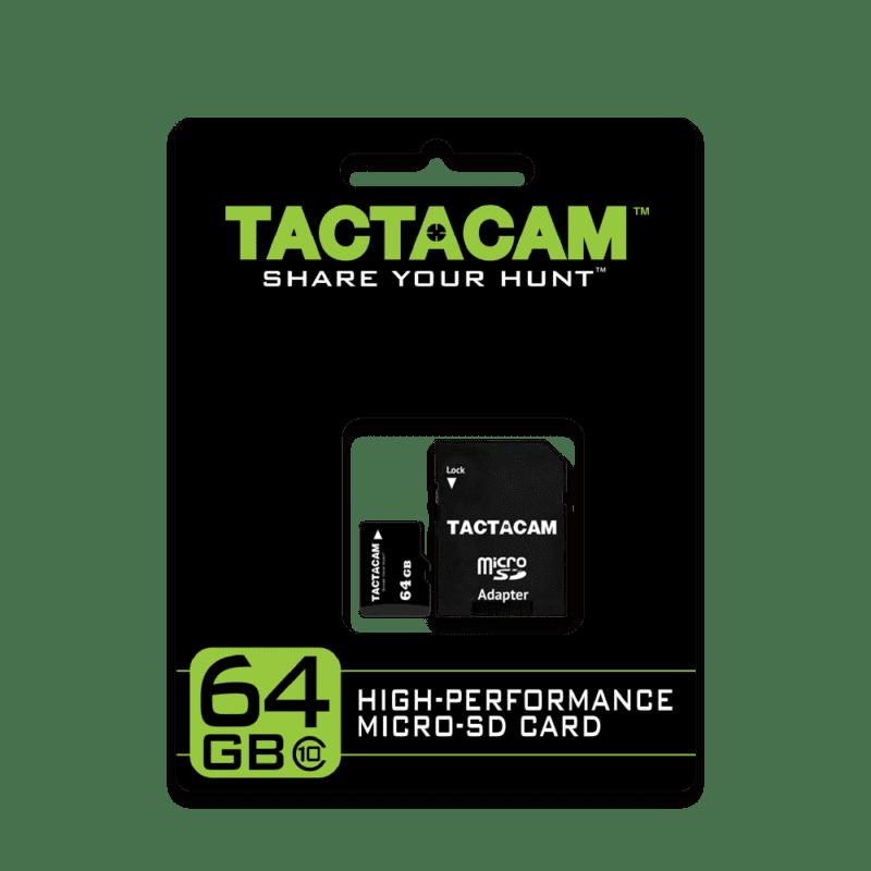 Tactacam 64GB SD Card Packaging
