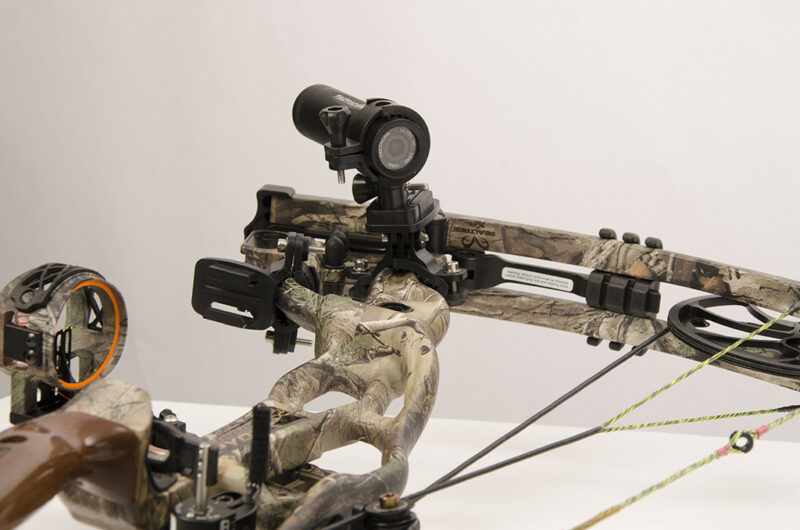 Tactacam Bow Cam on Bow - Front View