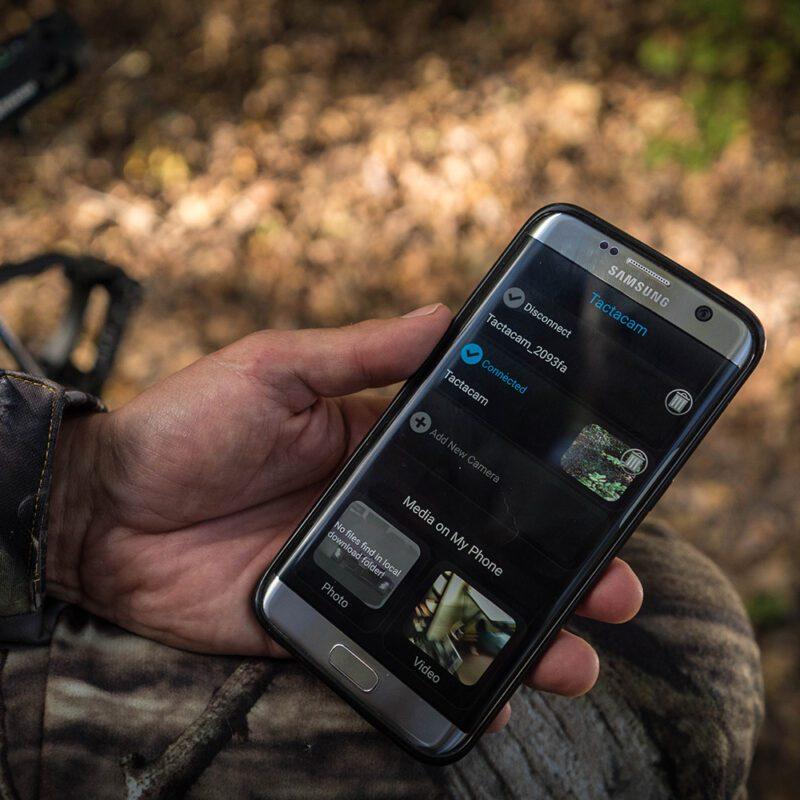 Tactacam Wi-Fi Camera App