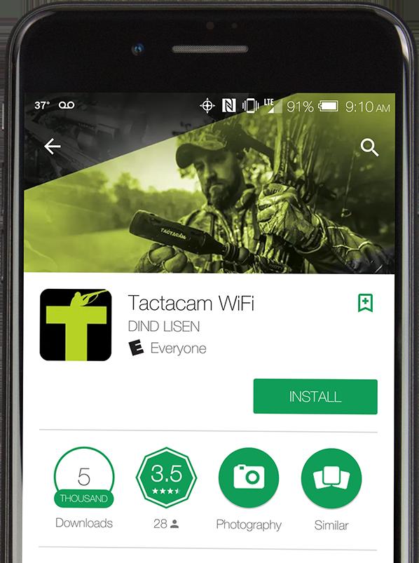 Tactacam App