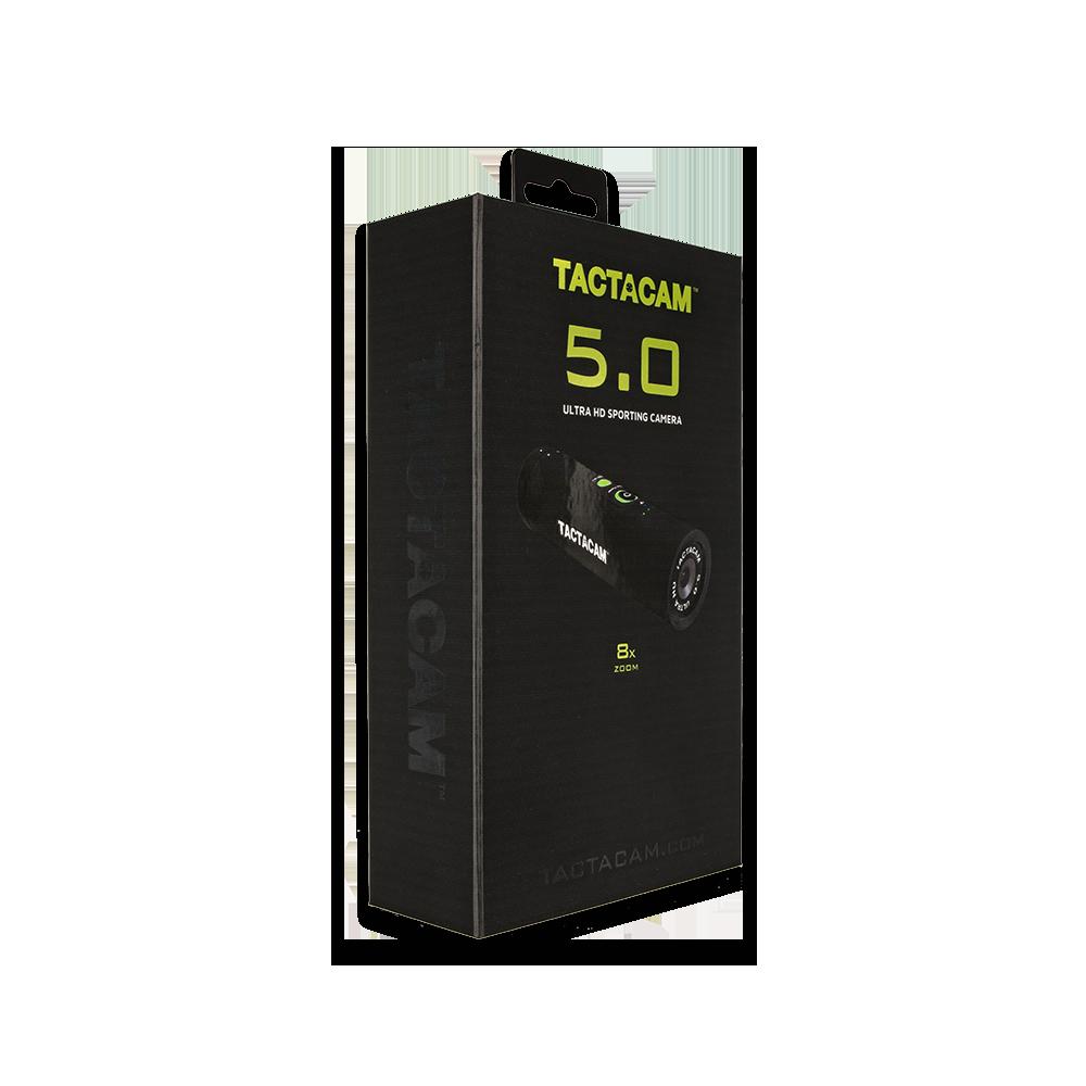 Tactacam 5.0 Packaging Right Quarter