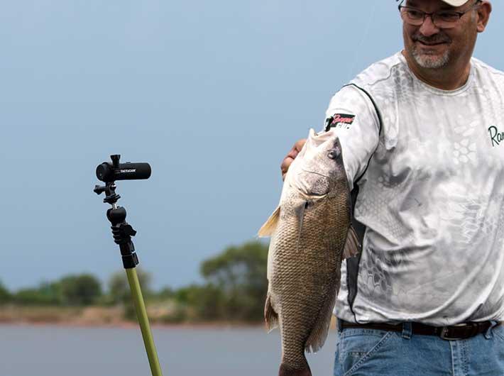 Fishing Tactacam Wide 3