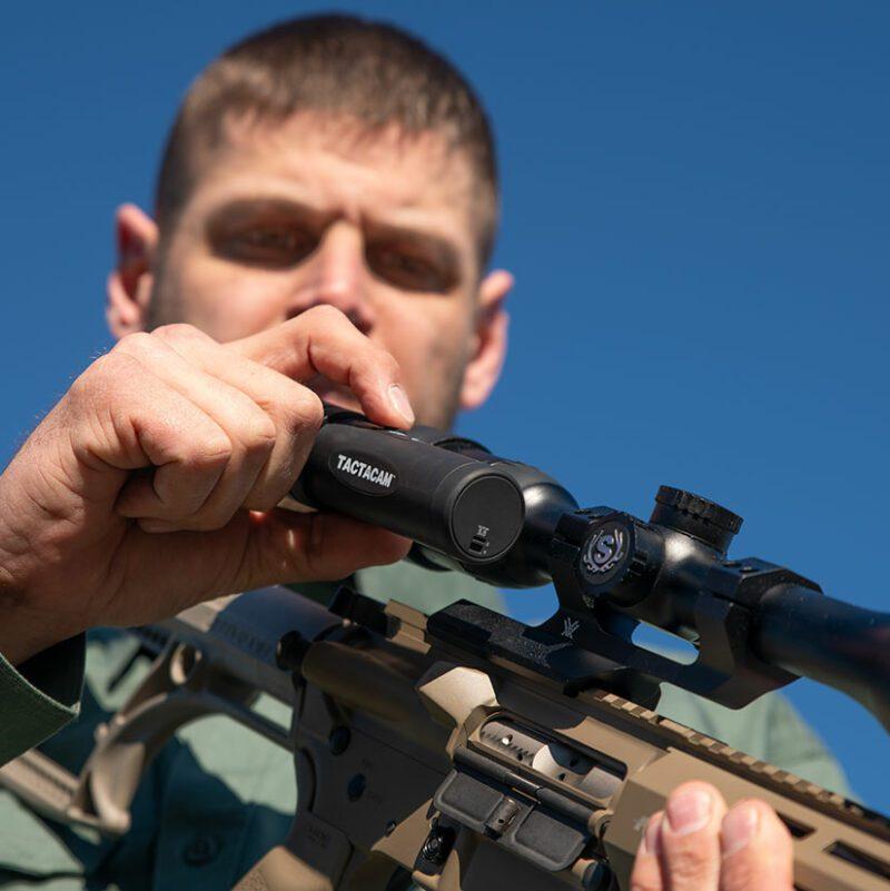 Tactacam FTS on Rifle