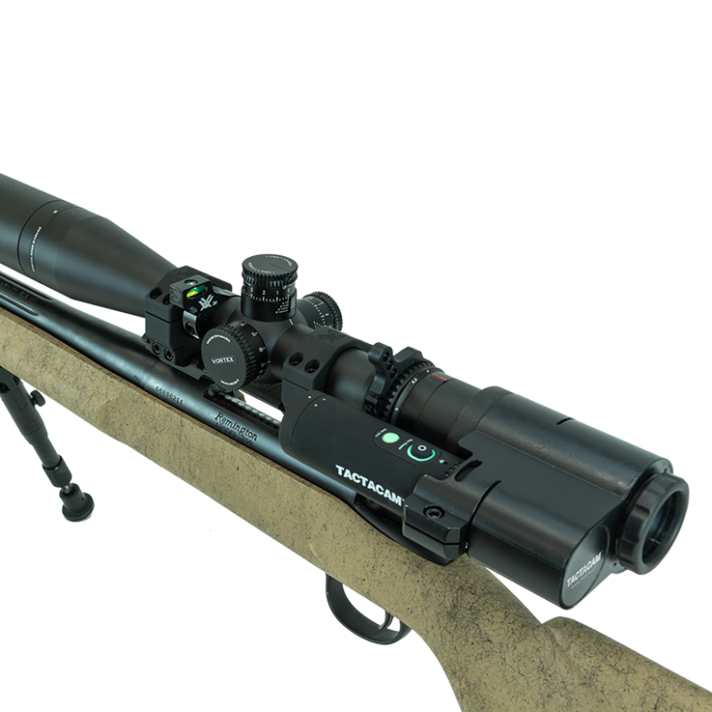 Tactacam FTS mounted on a rifle